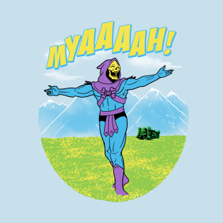 The Sound Of MYAAAAH! t-shirts