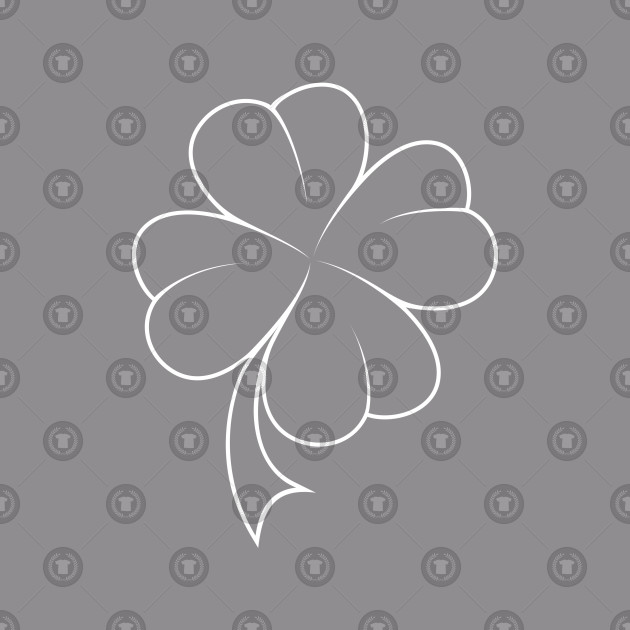Four Leaf Clover Design - Perfect for St Patrics