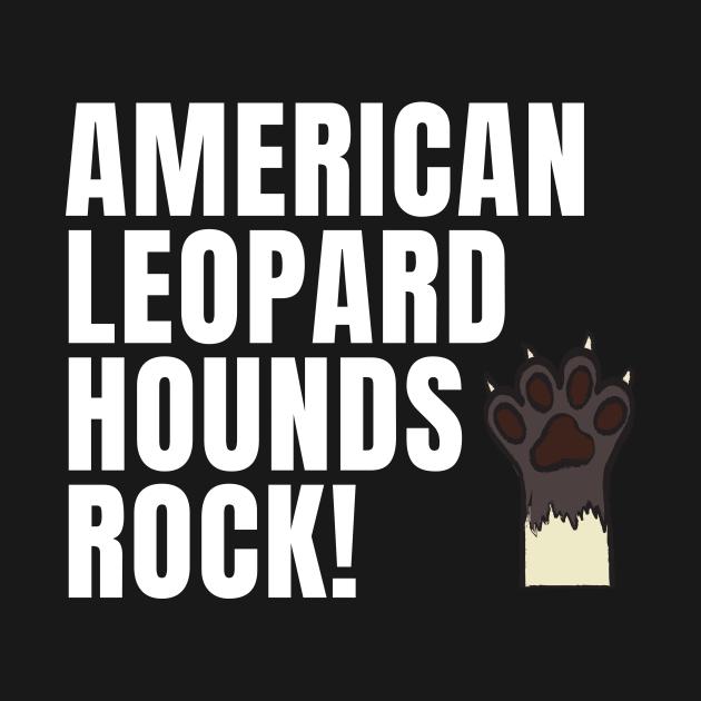 American Leopard Hounds Rock Design