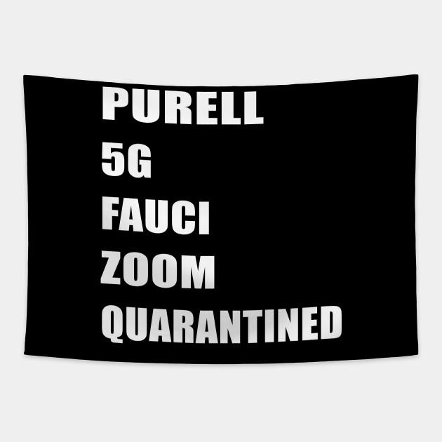 purell 5g fauci zoom quarantined