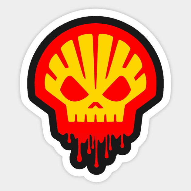Hell Shell Sticker