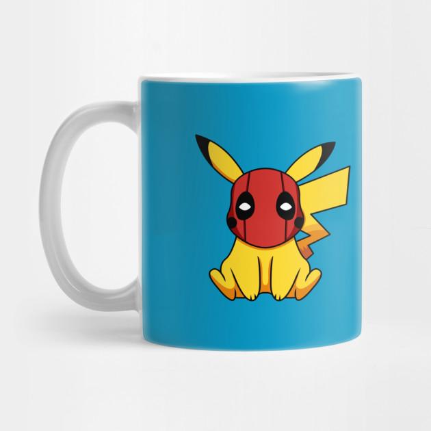 e6f21797 Pikapool Pikachu Deadpool Mashup Pokemon Detective Pikachu ...