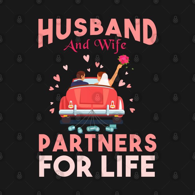 Husband And Wife Partners for life gift