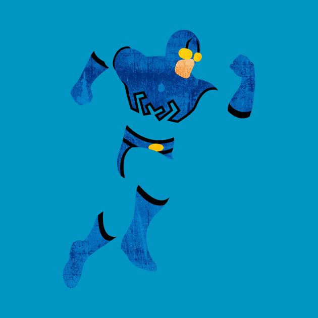 Blue Beetle Minimalism