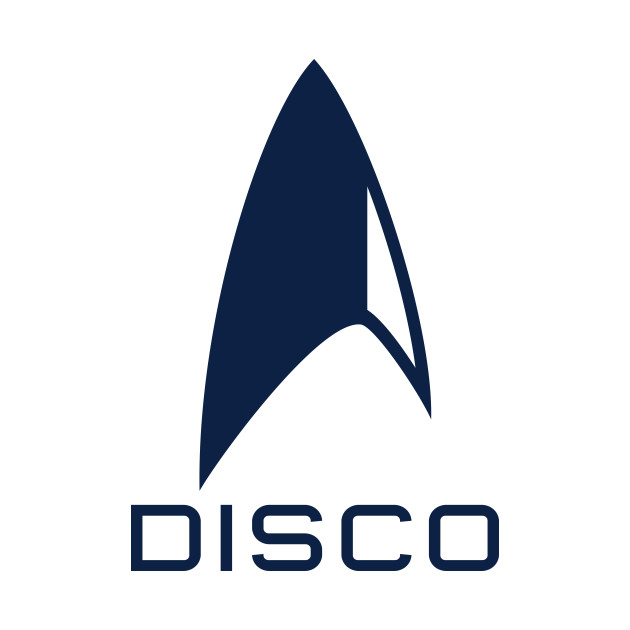 Star Trek: Discovery Disco - Delta (navy)