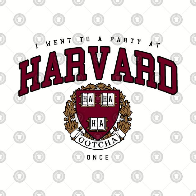 330ee18b48de Harvard Spoof - Harvard - Long Sleeve T-Shirt | TeePublic