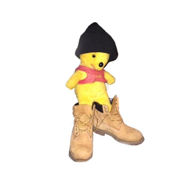Pooh In Timbs Pooh Bear T Shirt Teepublic
