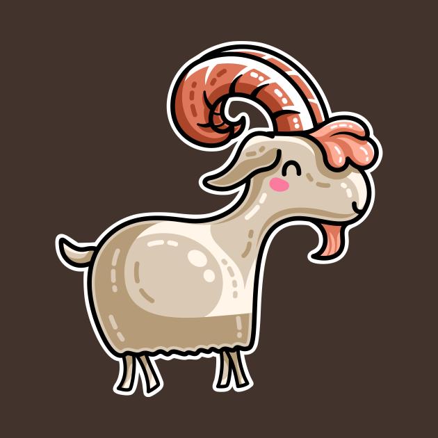 Kawaii Cute Goat