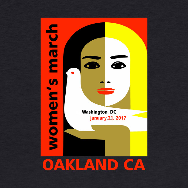 Women's March on Oakland CA January 21, 2017