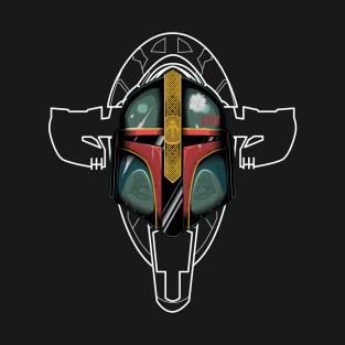 The Viking: Boba Fett t-shirts