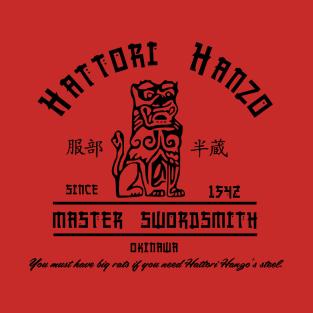 Hattori Hanzo t-shirts