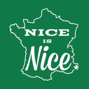 Nice is Nice t-shirts