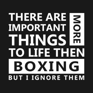 Boxing Love t-shirts