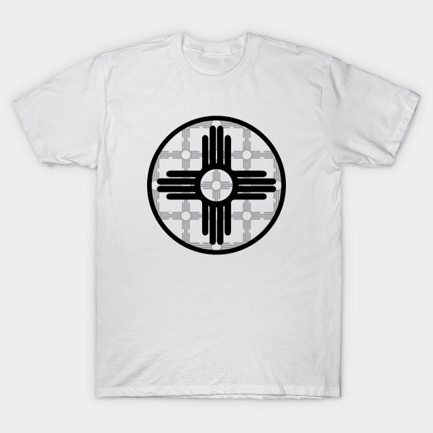 Zia Symbol Pattern New Mexico Flag New Mexico T Shirt Teepublic