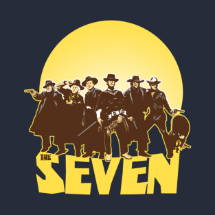 The Magnificent Seven t-shirts