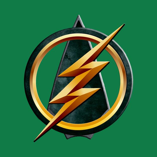 Flash and Arrow Logo (Team Flarrow)