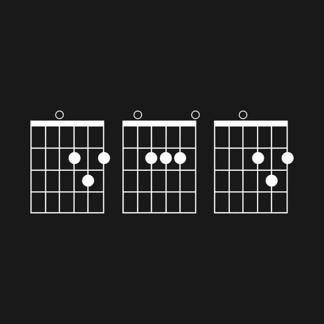 Guitar Chord Shirt - Dad