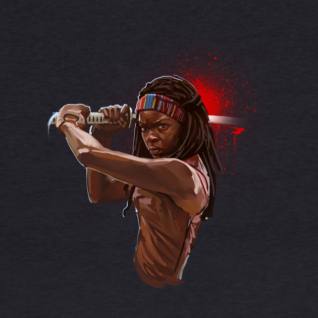 the walking dead-Michonne