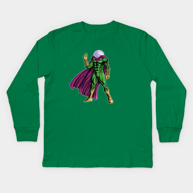 f7c75ce6f Mysterio - Spider-Man - Spider Man - Kids Long Sleeve T-Shirt ...