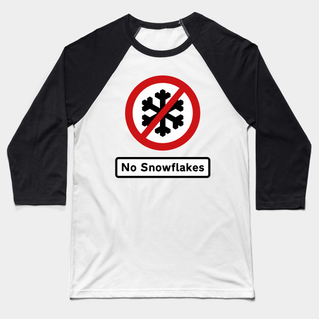 British Road Sign – No Snowflakes