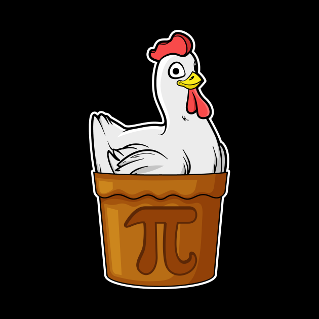 Chicken Pot Pie Math Funny Pun Pi Gift