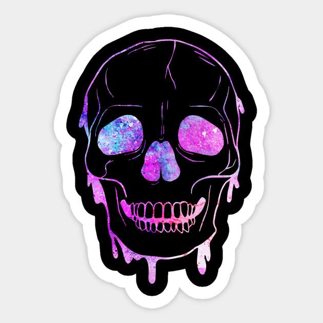 Cosmic Skull Art