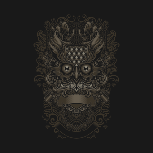 Owl - Javanese Ornate