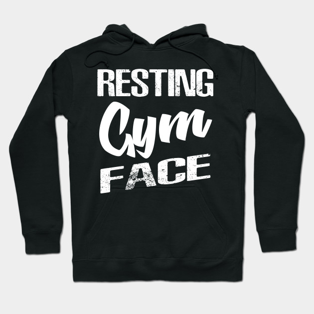 Resting Gym Face Women/'s Tank Top Funny Workout Gym Fitness Exercise Tee