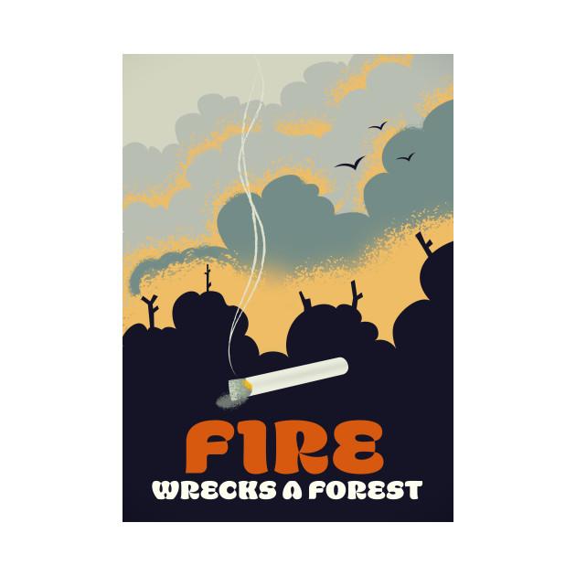 Fire - Wrecks a Forest