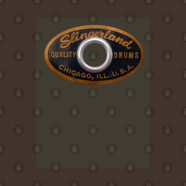 Slingerland Drum Badge