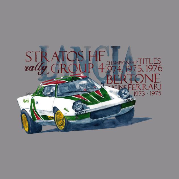 Rally: Lancia Stratos