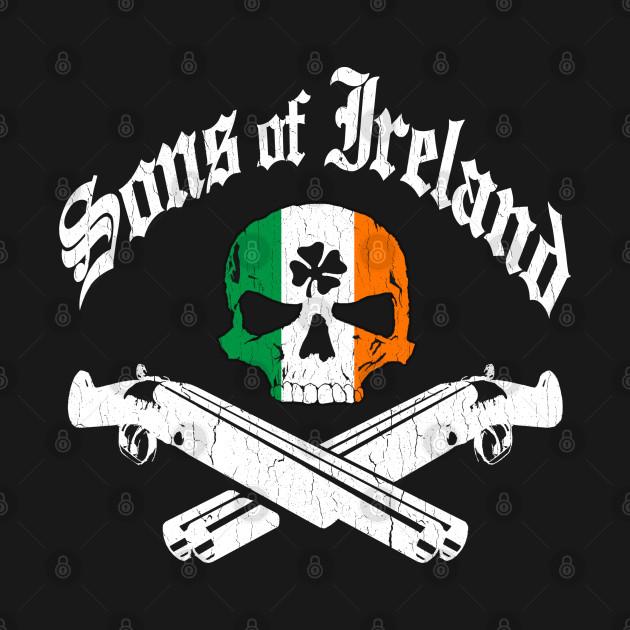 Sons of Ireland (vintage distressed look)