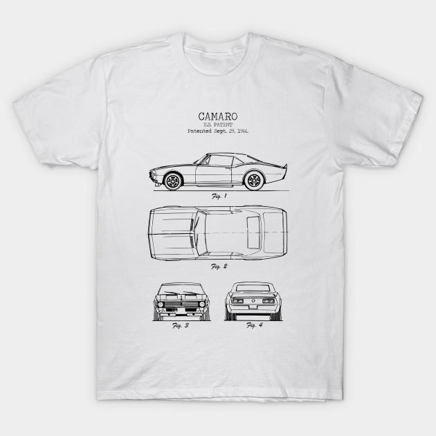 Retro Camaro Chevrolet Adult T-Shirt
