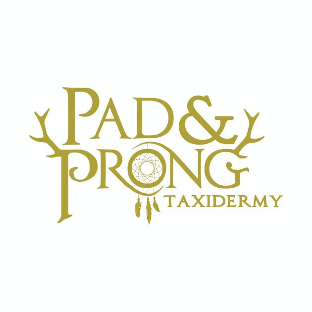 Pad&Prong Taxidermy Logo