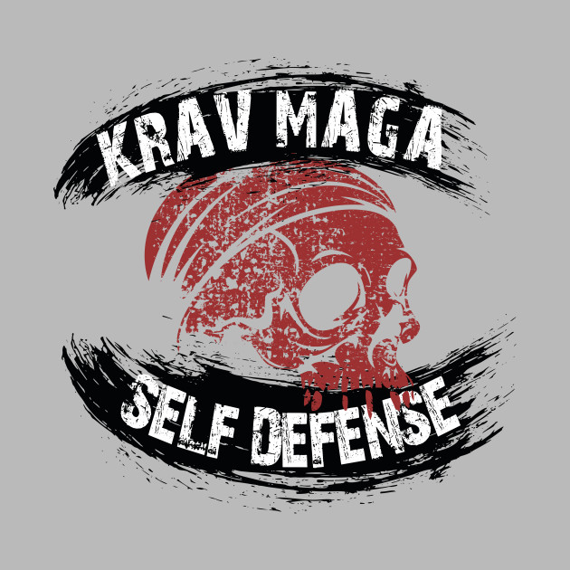 Krav Maga Self Defense Skull