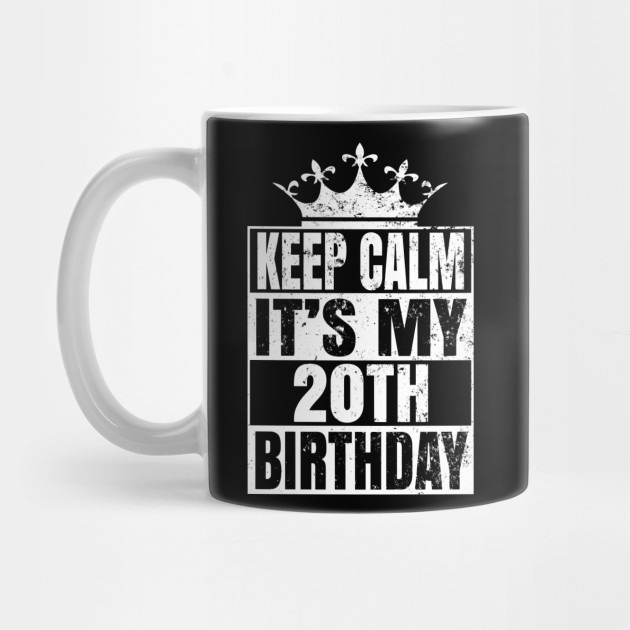 20 Years Old 20th Birthday Vintage Retro Gift By Grabitees