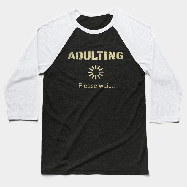 Adult 18th Birthday Gift For 18 Years Old Girls Boys Present Baseball T Shirt