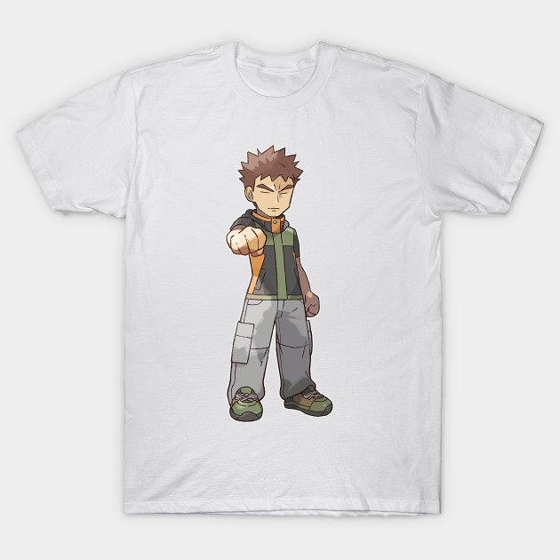 1a06f7d8b31f Let s Go! Brock - Pokemon - T-Shirt