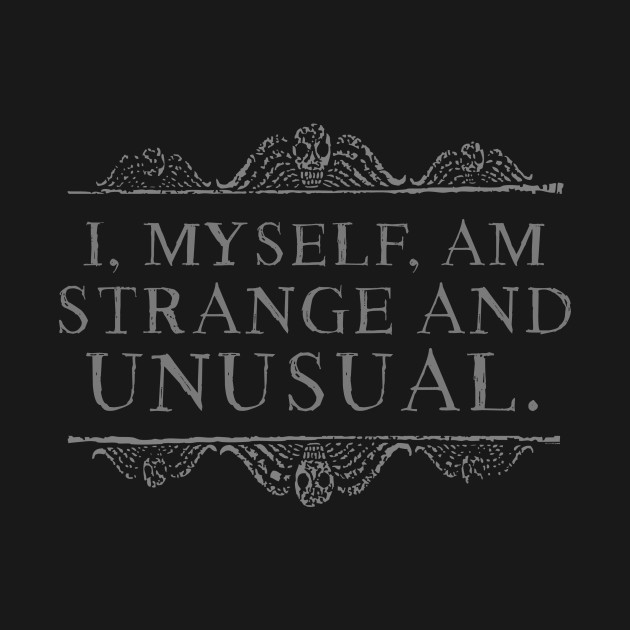 Strange & Unusual - Gray