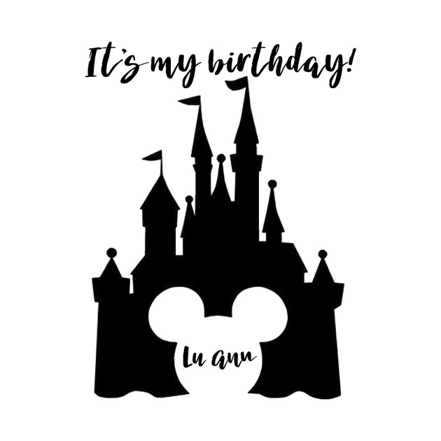LuAnn Disney Birthday