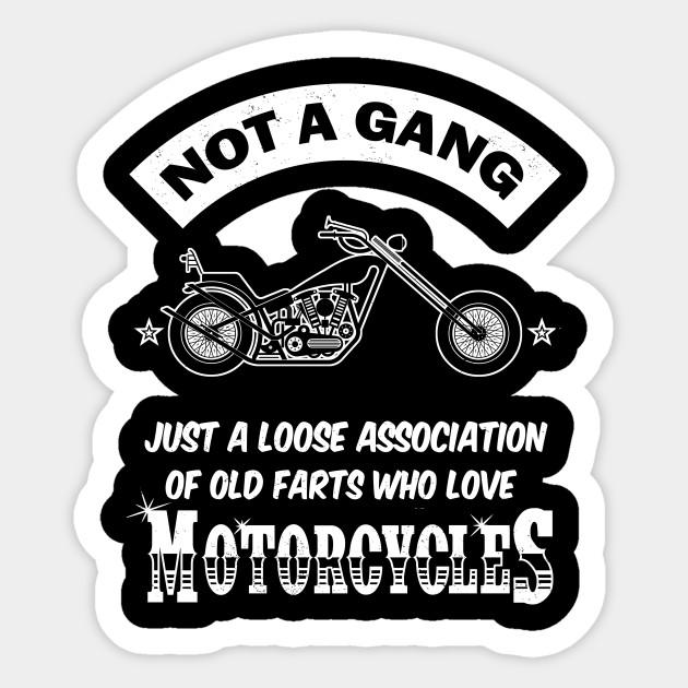 MC THE RIGHT TO ASSOCIATE STICKER BIKER OMC BIKE STICKER MOTORCYCLE STICKER
