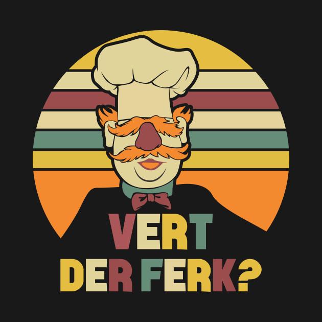 c45c5705f Sunshine-Sous-Sunset-Chef-Swedish-Vert-Cute-Der-Ferk-T-Shirt - Vert ...