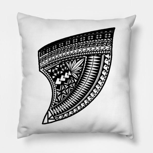 9d0c394f7efe Tribal Bite - Shark Tooth - Pillow
