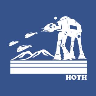 Hoth Retro t-shirts