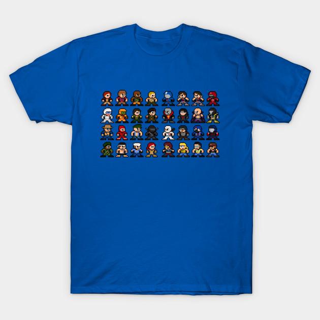 726170b2 8-Bit GI Joe Cartoon Sprites - Gi Joe - T-Shirt | TeePublic