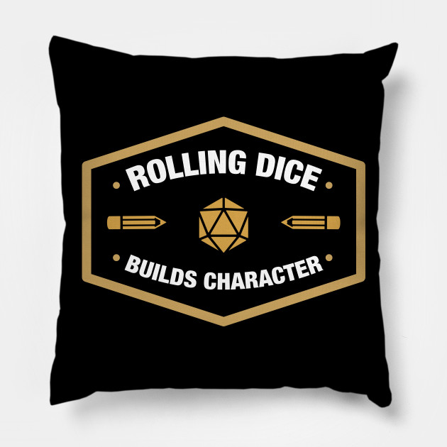 Rolling Dice Builds Character - RPG Roleplay