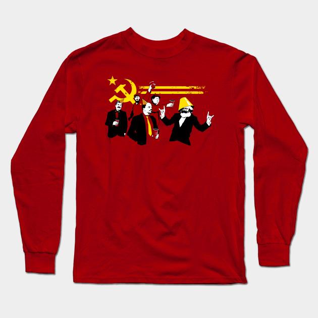 dda49407 The Communist Party (original) - Communist - Long Sleeve T-Shirt ...
