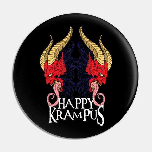 Happy Krampus Christmas Halloween Horror Devil