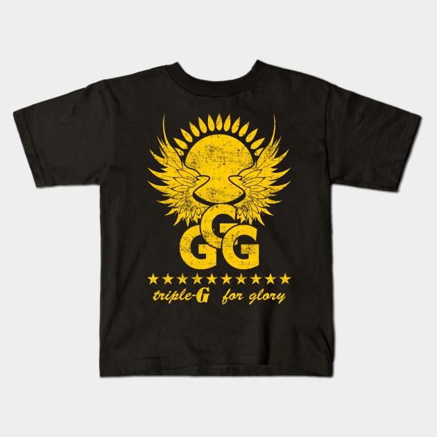 69443b008f965c GGG for Glory - Ggg Gennady Golovkin - Kids T-Shirt