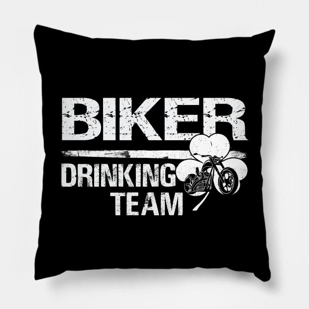 Biker drinking team